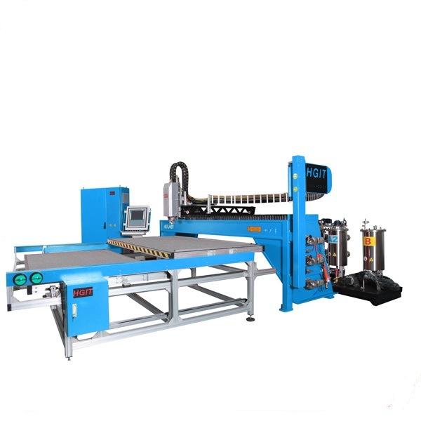 PU Foam Sealing Gasket Machine