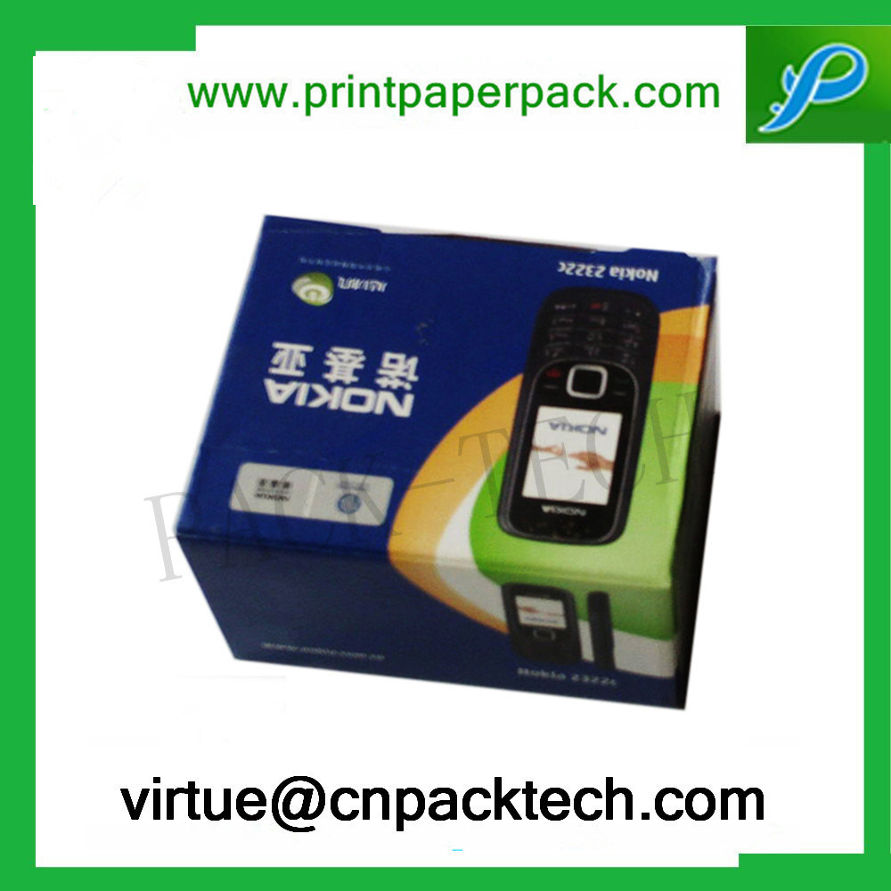 Custom Printing Cellphone Ecommerce Packaging Paper Gift Box