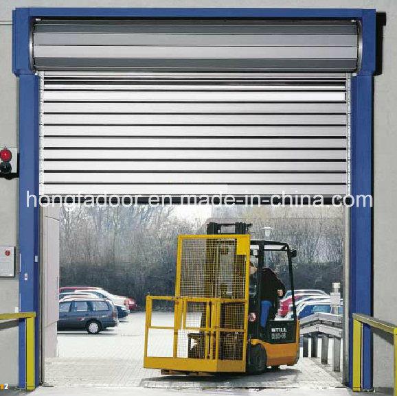 Hard Fast Rolling up High Speed Shutter Aluminum Door (HF-K63)