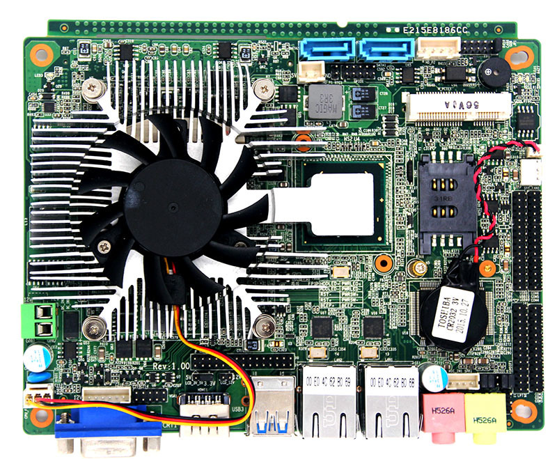 Hotsale 3.5inch Computer Dual Core2 Mainboard