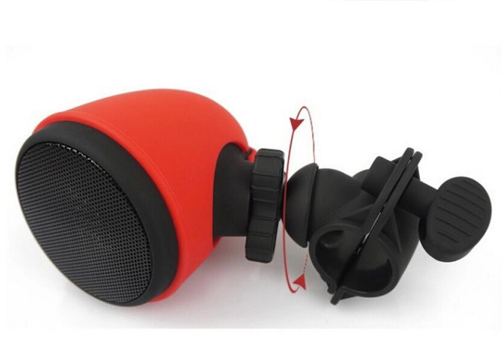 Bike Mount Bluetooth Speaker Outdoor Waterproof Shockproof Wireless Bicycle Music Speaker