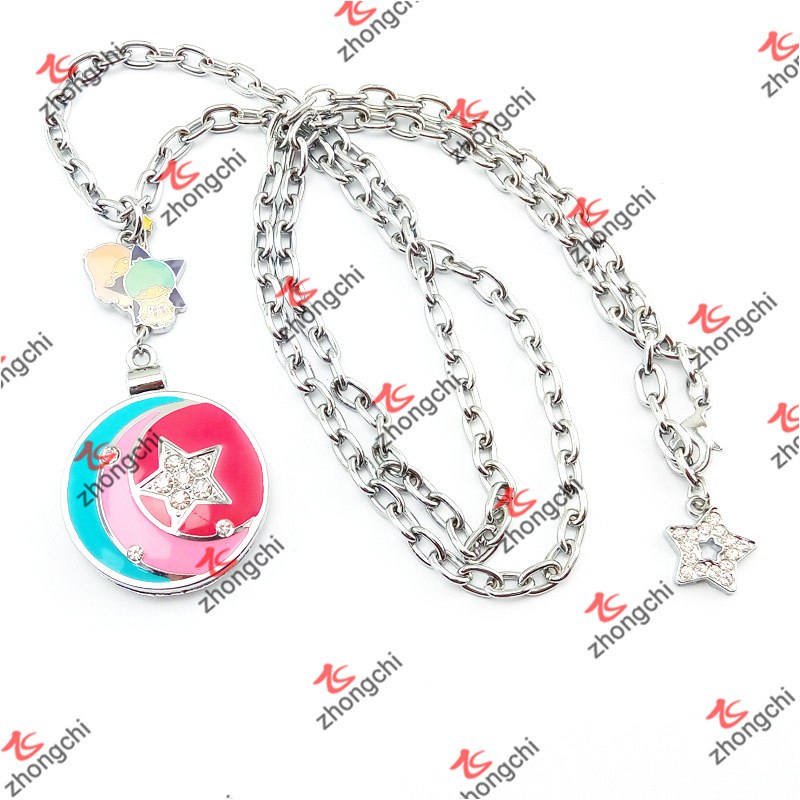 Fashion Customized Mirror Lockets Pendant Necklace Jewelry Gifts (MPN50815)