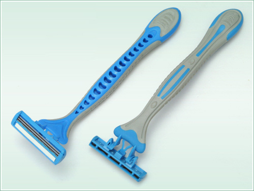 Triple Blade Disposable Razor (KD-B3008L of 4s′)