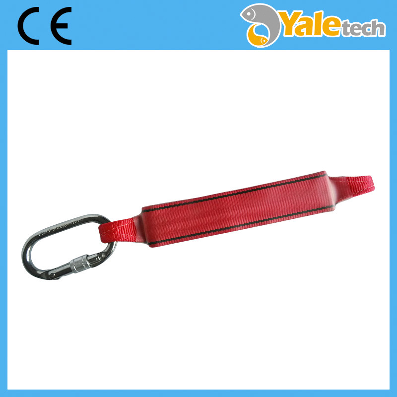Safety Lanyard, Safety Webbing Lanyard with Energy Absorber