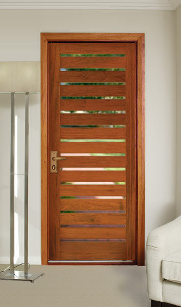 Interior Timer Solid Wood Door