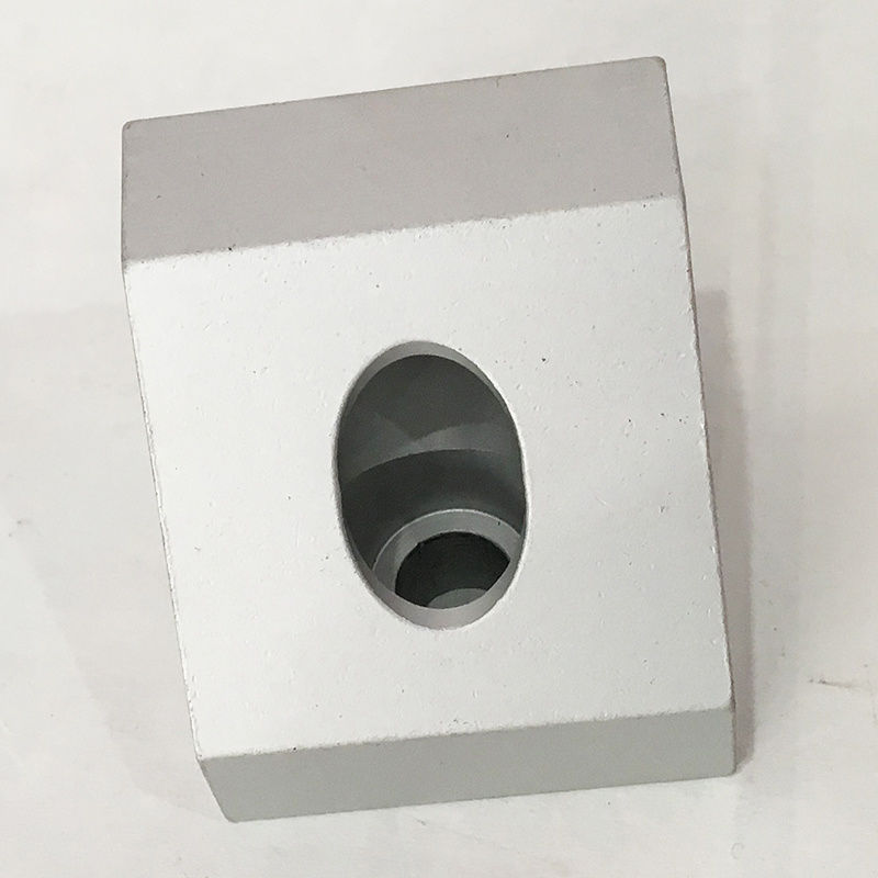 Extrusion Angle Connector /Custom Made/ CNC Machining Parts