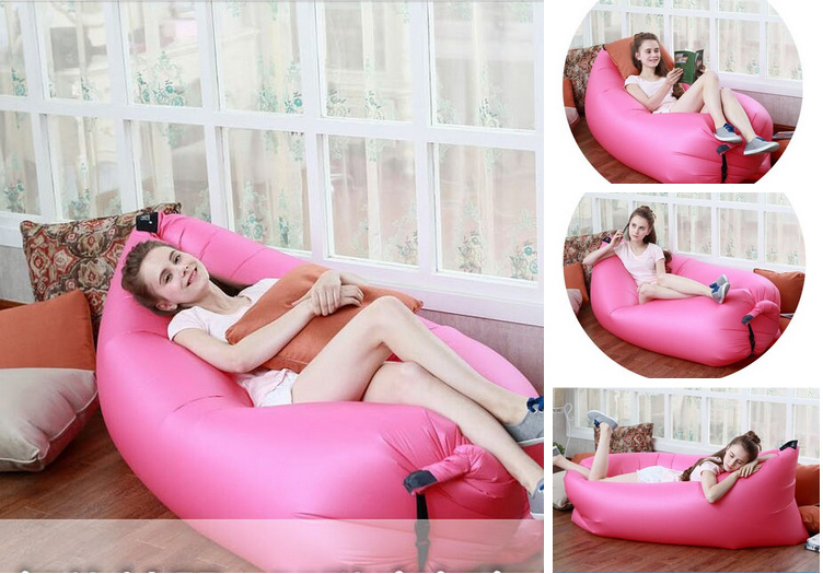 Carries 2016 High-Qua Outdoor Air Filled Sofa Inflatable Nylon Lounger