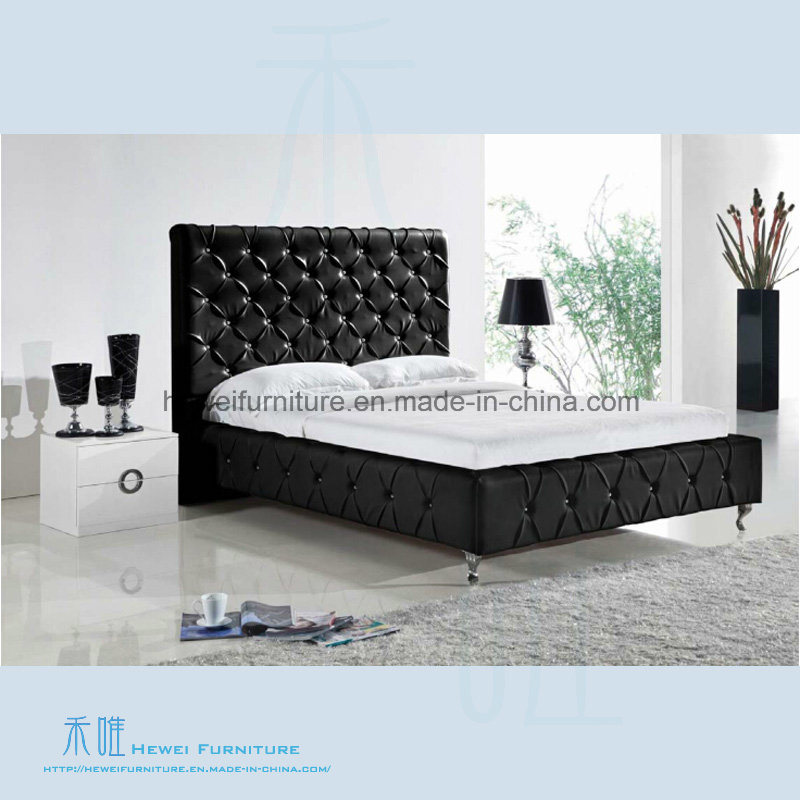 China High Quality Soft Chesterfield Bed Of Bedroom Furniture (HW K255AB)    China Furniture, Modern Furniture