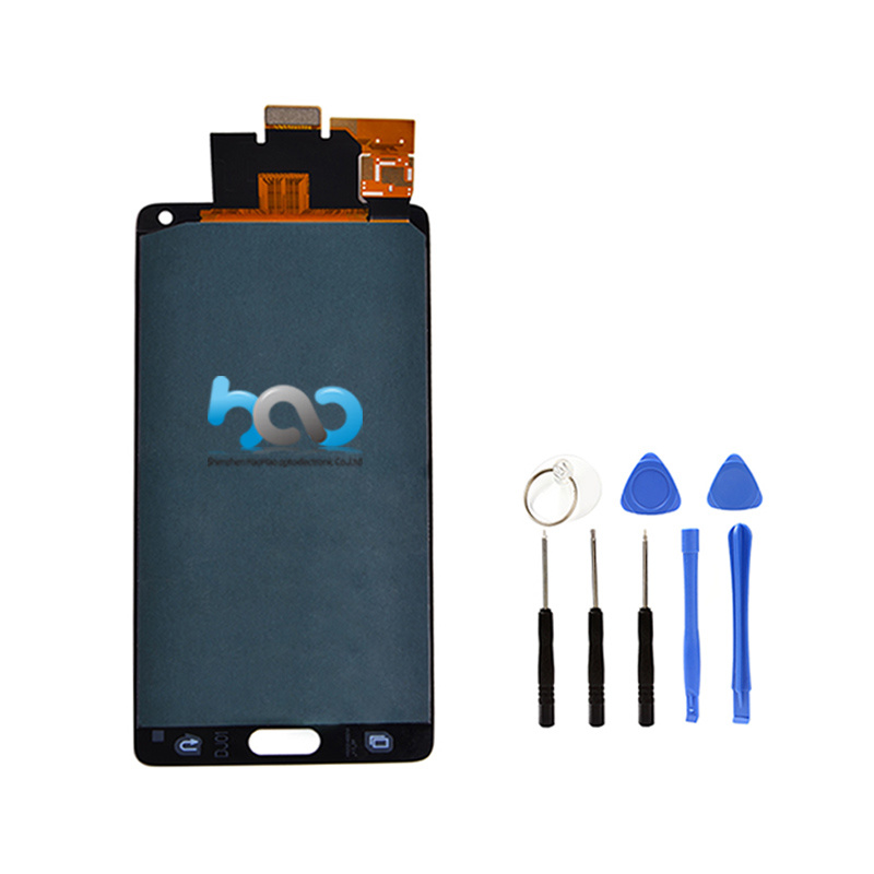 Small LCD Screen Display for Samsung Galaxy Note 4 Touch Panel