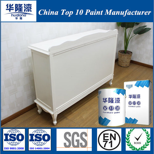 Hualong Matte White Furniture Paint for Wood