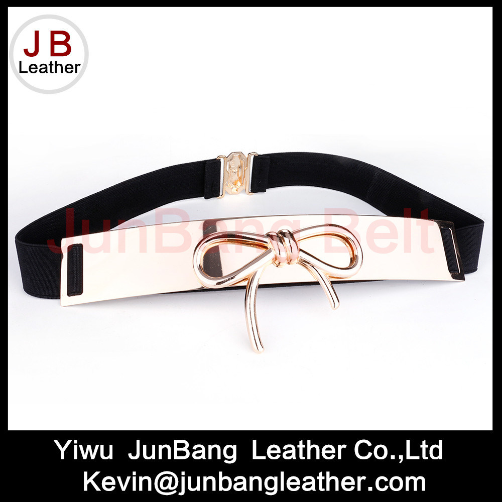 Fashion latest Styles Ladies Elastic Butterfly Knot Belt