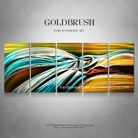 Abstract Handmade Aluminum Oil Painting / Craft / Art for Decoration (CHB6015011)