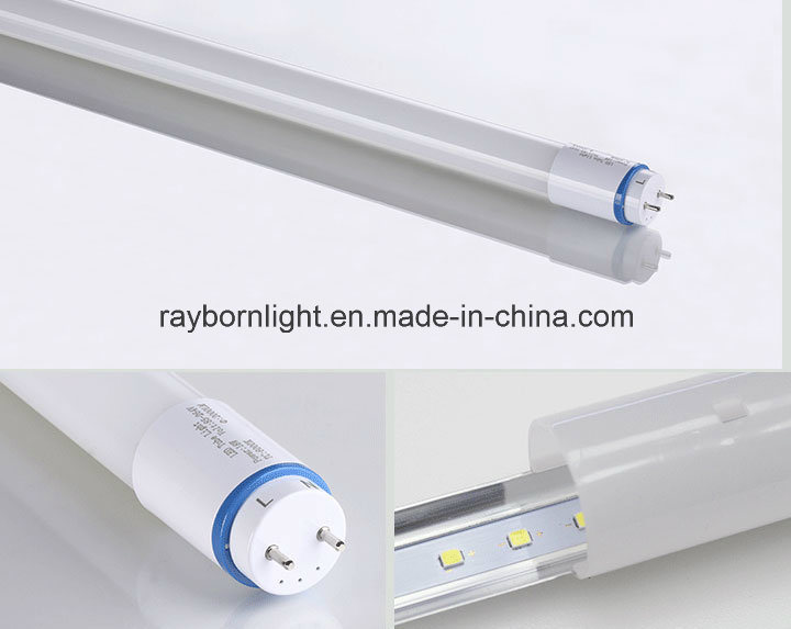 Daylight Nanomaterials 150lm/W 2FT/3FT/4FT 10W T8 LED Tube Light 600mm