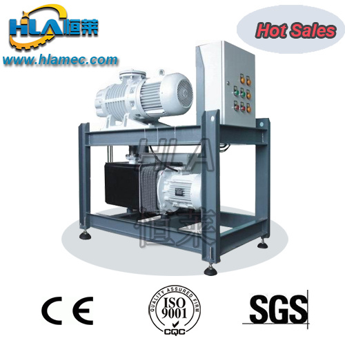 Double Stages Transformers Vacuum Pump Unit