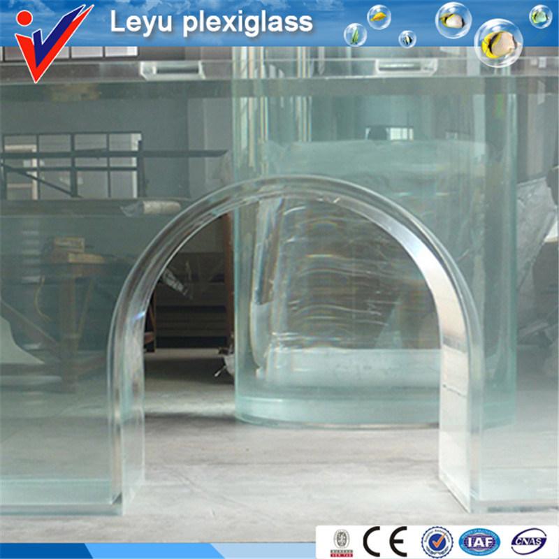 Transparent Acrylic Aquarium for Underwater Projects