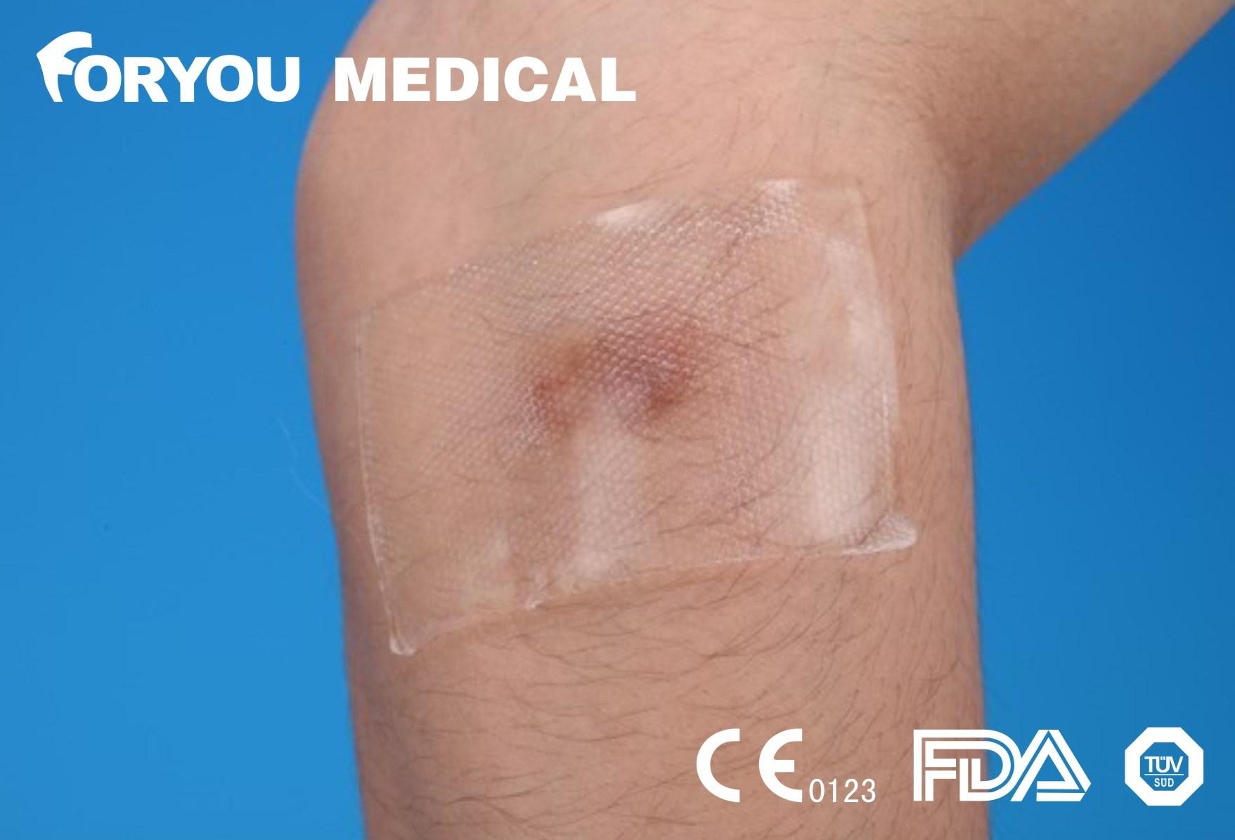 Soft Thin Medical Silicone Gel Scar Dressing