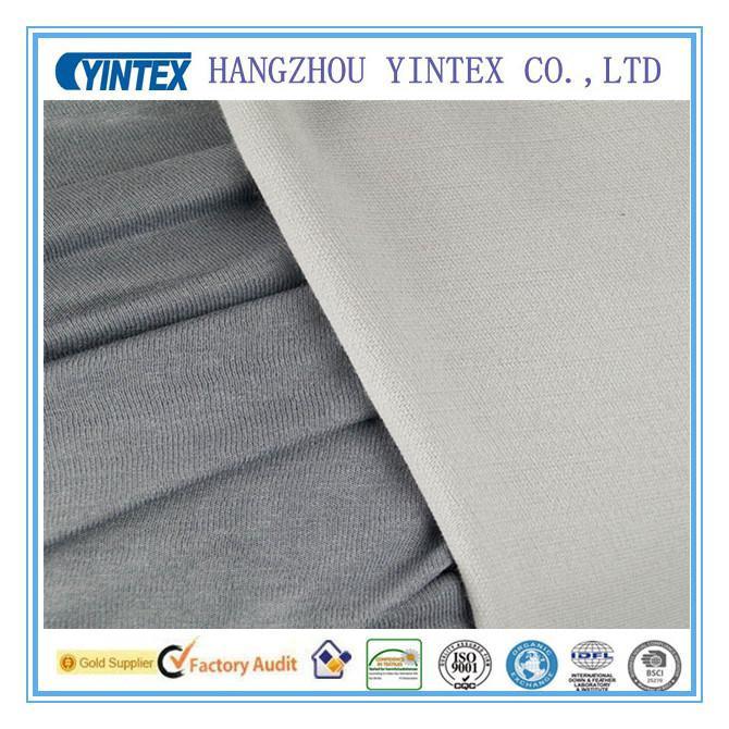 Polyester Twist Roma Knitting Fabric / Ponte Roma Fabric / Ponte-De-Roma Fabric