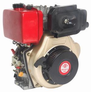 Recoin/Electric Start Single Cylinder 2 Stroke Diesel Engine