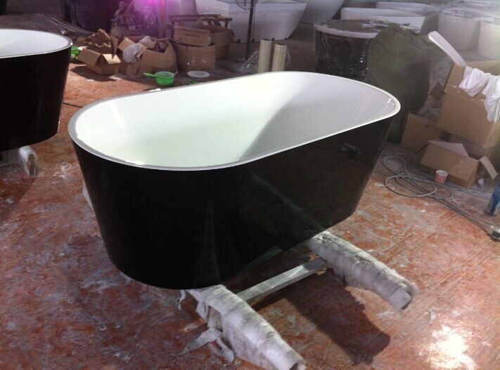 CE ISO9001 Acrylic Freestanding Bathtub (CL-334)