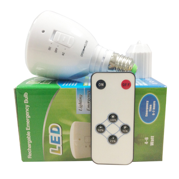 E27 B22 Rechargeable LED Bulb with Emergency Function