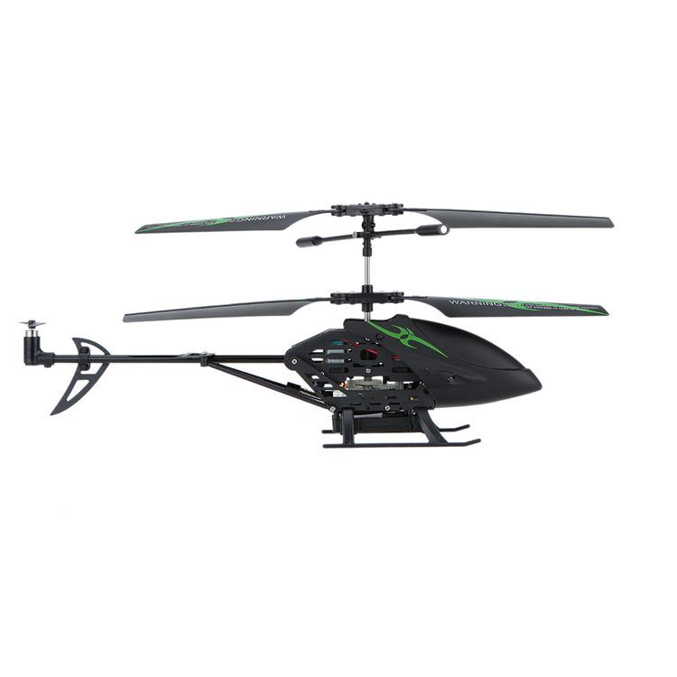 Rh-277118c Opheodrys 3CH Double Propellers Infrared Remote Control Helicopter with Gyros and Camera