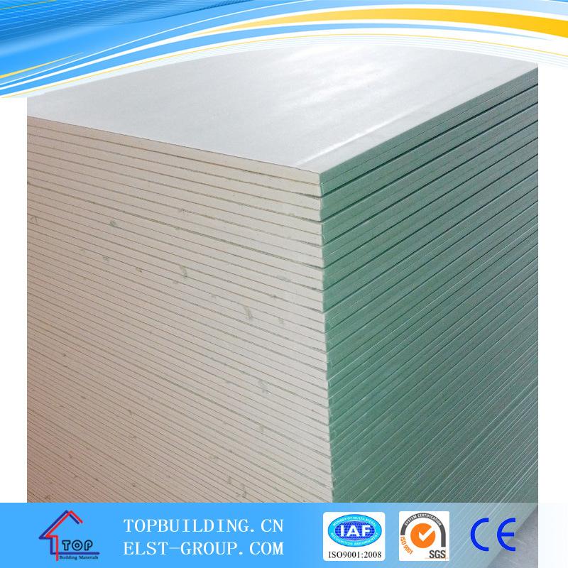Gypsum Board/Moistureproof Gypsum Board/Plasterboard/1200*2500*12.5mm