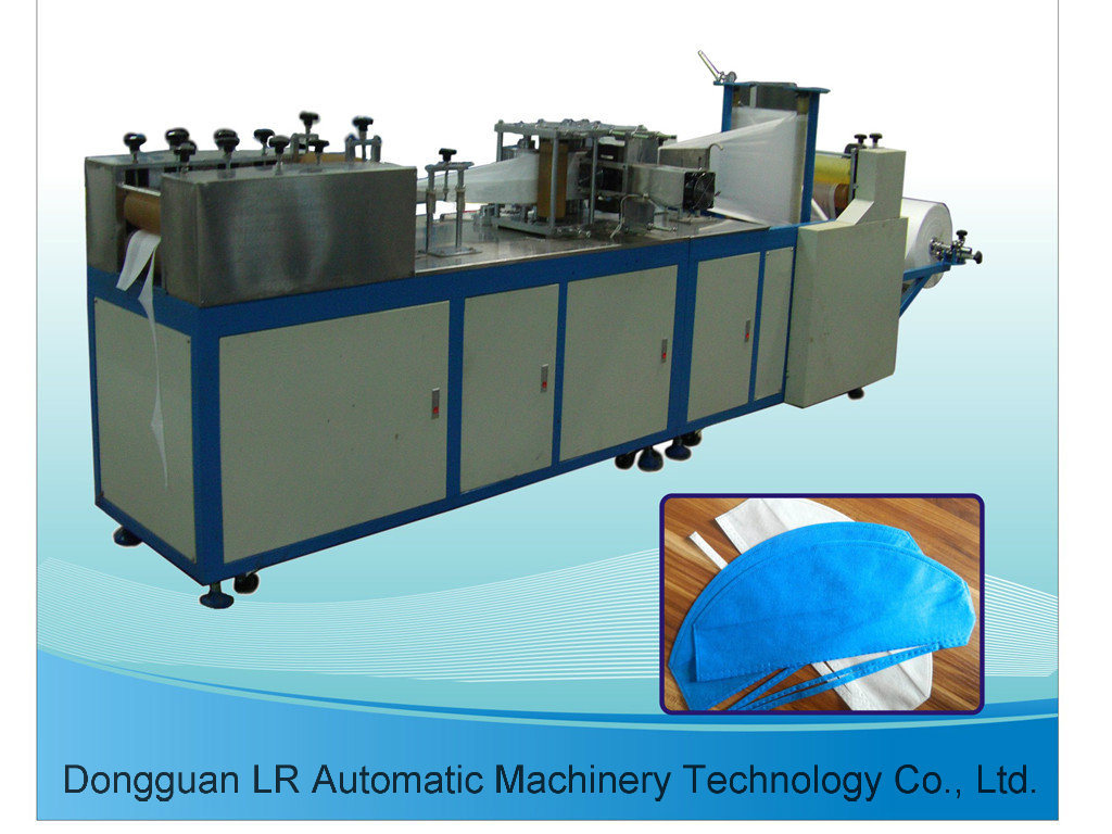 Non Woven Medical Tie on Operation Doctor Cap Making Machine