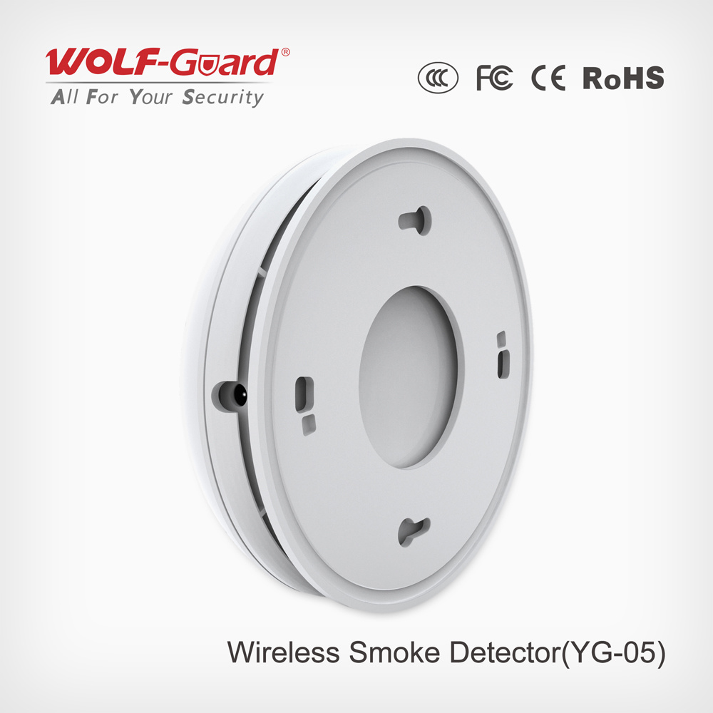 Wireless Smoke Detector, Smart Wireless Smoke Detector Yg-05