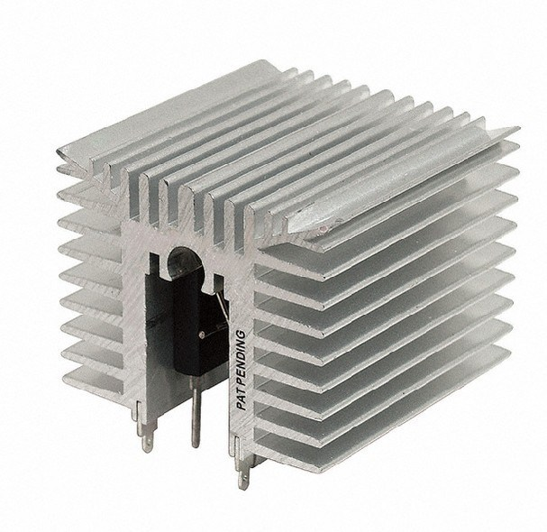 Competitive Aluminum Profile for Heat Sink with Anodizing and Machining