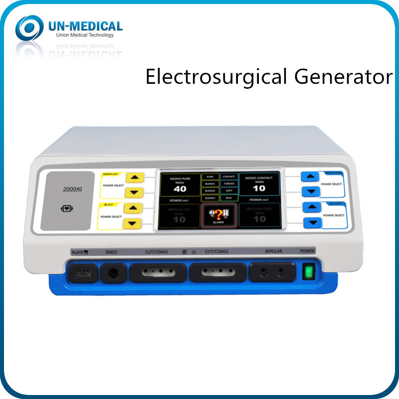 400W Electrosurgical Unit with LCD Touch Screen