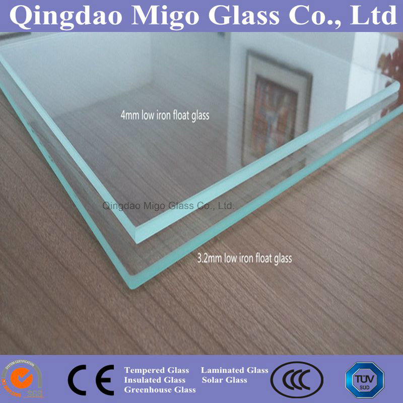 3.2mm Low Iron Solar Panel Tempered Glass Supplier