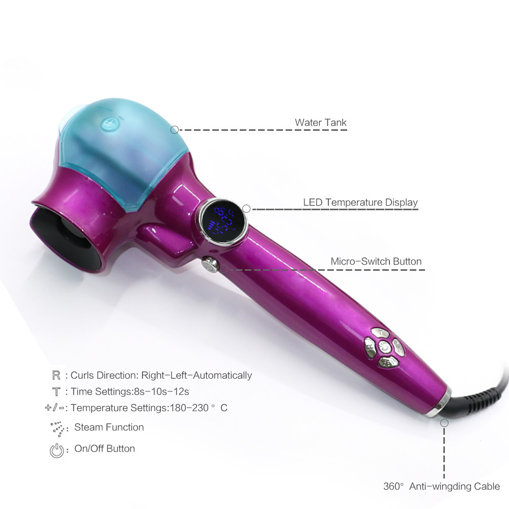 OEM Best Price Showliss PRO LCD Hair Curler
