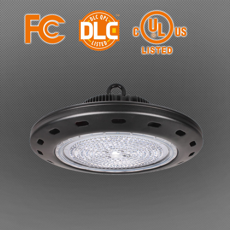 Meanwell Driver+Philips SMD3030 LED Chip UFO Highbay with UL&Dlc