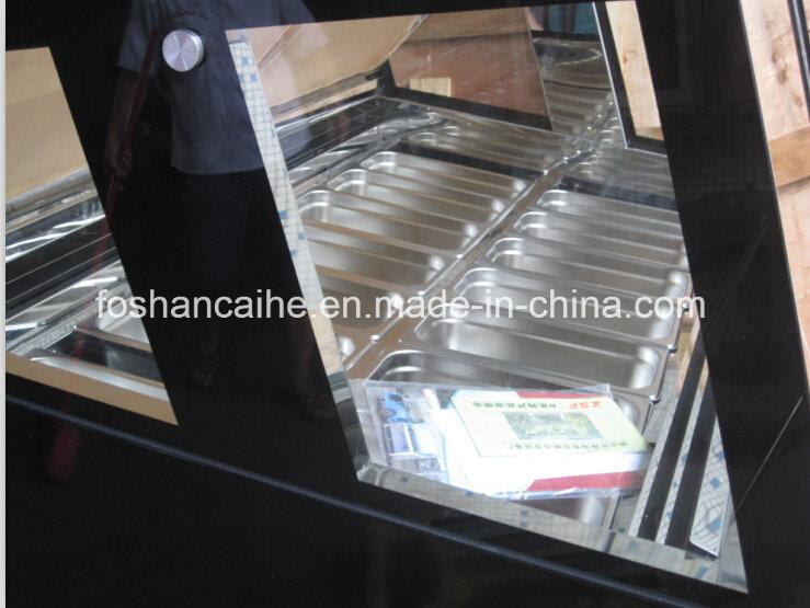 Ce Approved Gelato Ice Cream Display Freezer