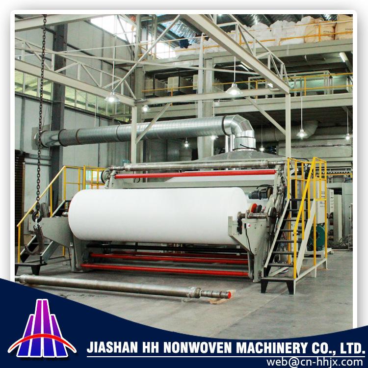 2.4m SMMS PP Spunbond Nonwoven Fabric Machine