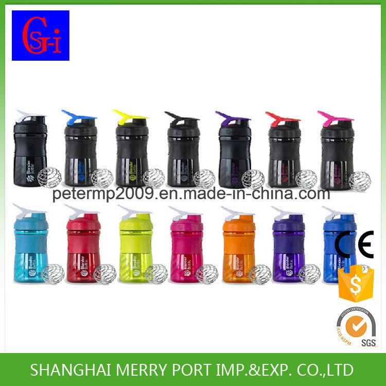 600ml Advanced Design Plastic Protein Shaker Bottle Mug