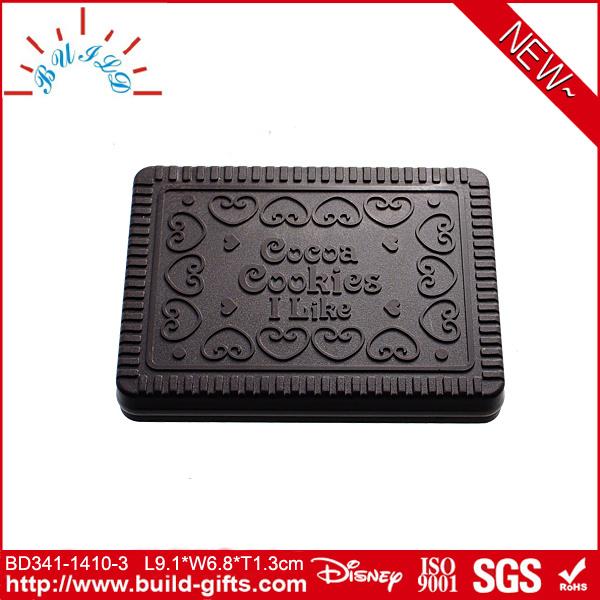 Plastic Pocket Mirror Cookies Shape