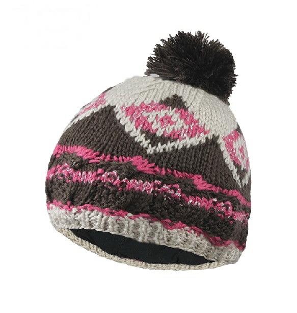 Winter Hat Acrylic Jacquard Beanie Hat Custom Knit Hat POM POM Beanie Hat