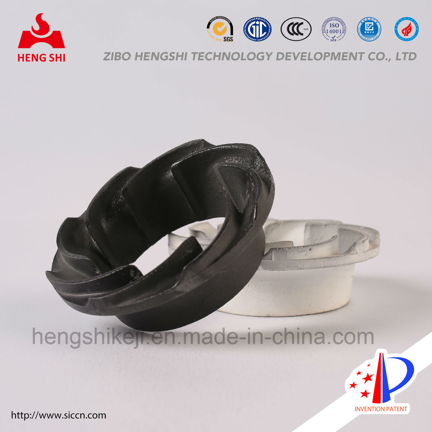 Irregular Structural Silicon Carbide in Metallurgy Industy