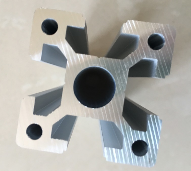 Silver Anodized Aluminium Profile for Industry