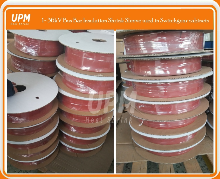 36kv Red Flame Retardant Bus Bar Insulation Heat Shrink Tube