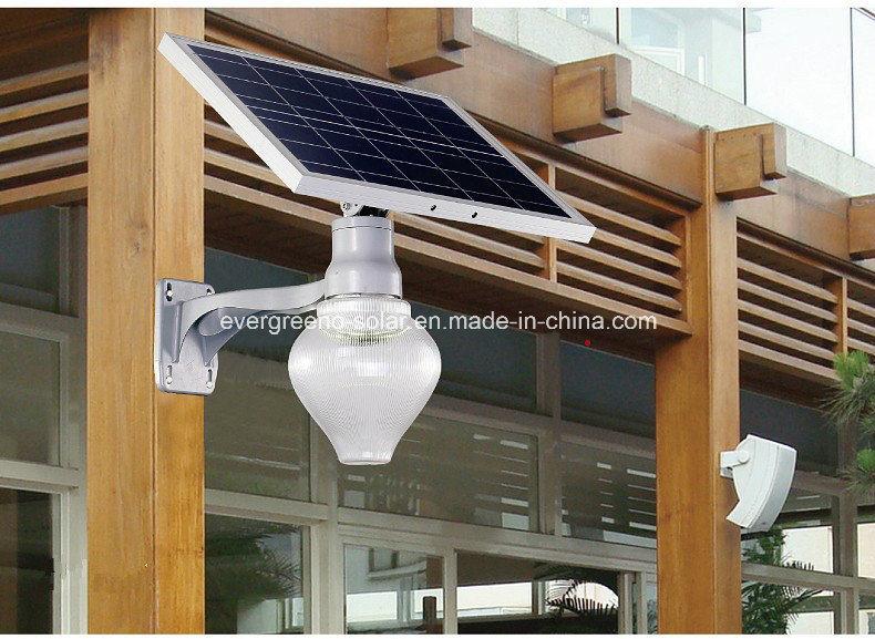 LED 6W Solar Garden Light Apple Integrated Solar LED Light