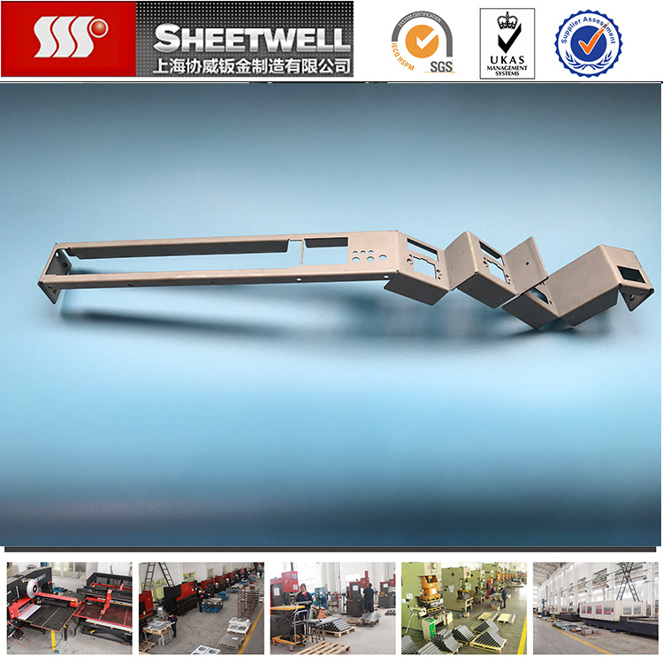 OEM Stamping Galvanized Sheet Metal Bracket Machining Precision Parts Fabrication