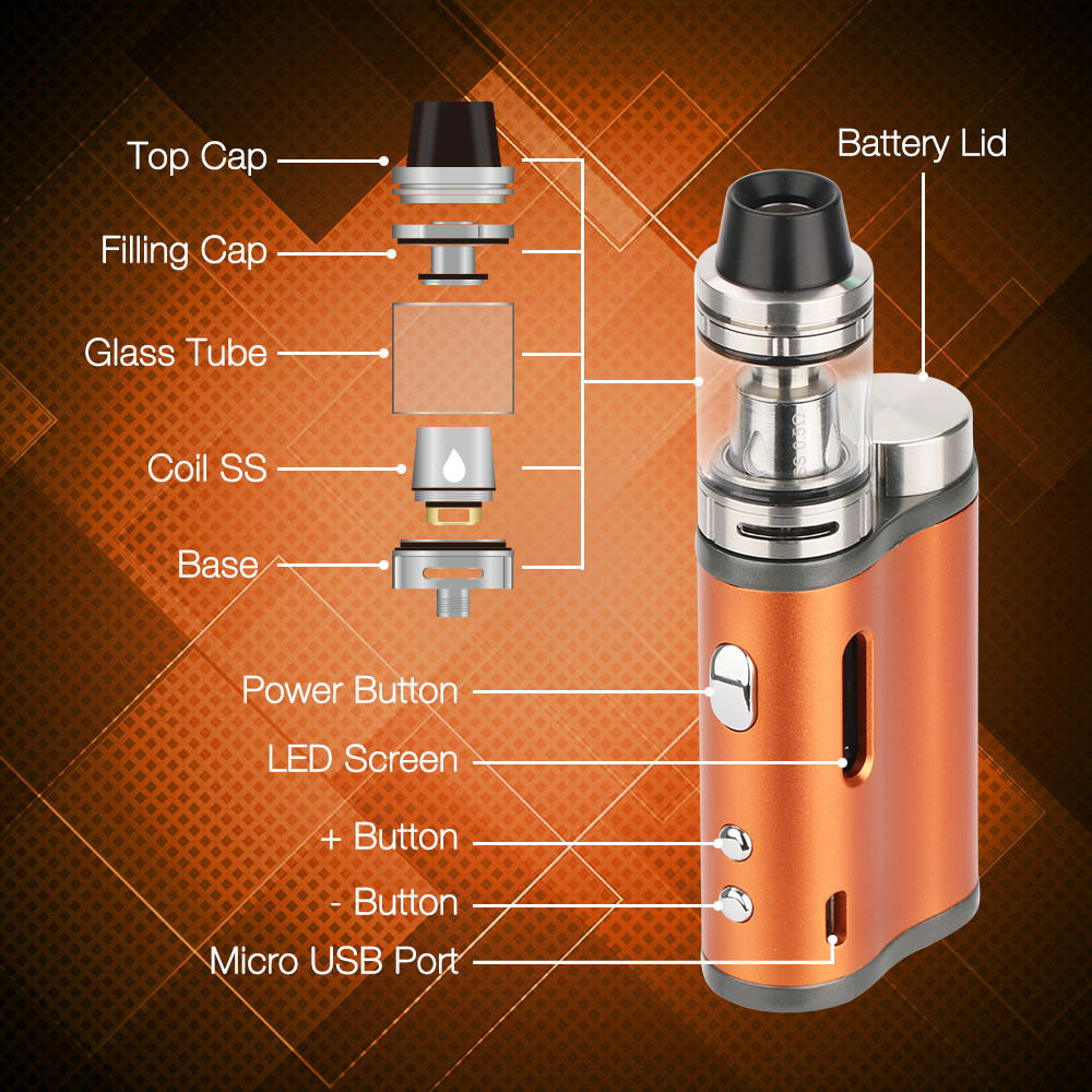 Chinese Supplier Vape Mods 2017 Jomotech Lite 76ers Vape with Child-Proof Lock