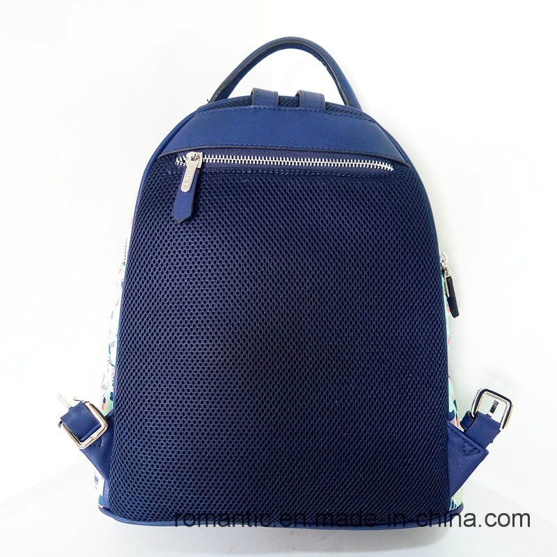Promotional Lady Nylon Backpack Women Traveling Bag (NMDK-040601)