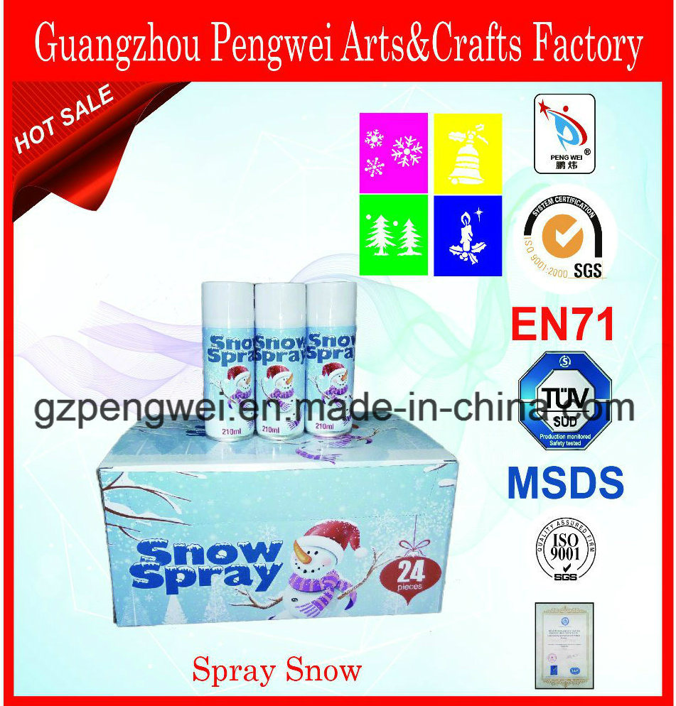 Wholesale 250ml Spray Snow for Christmas Window Decoration