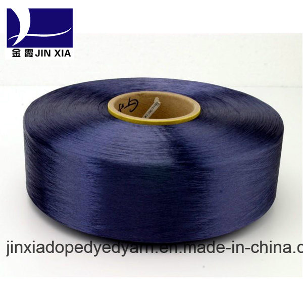 Dope Dyed Polyester Yarn FDY 150d/96f