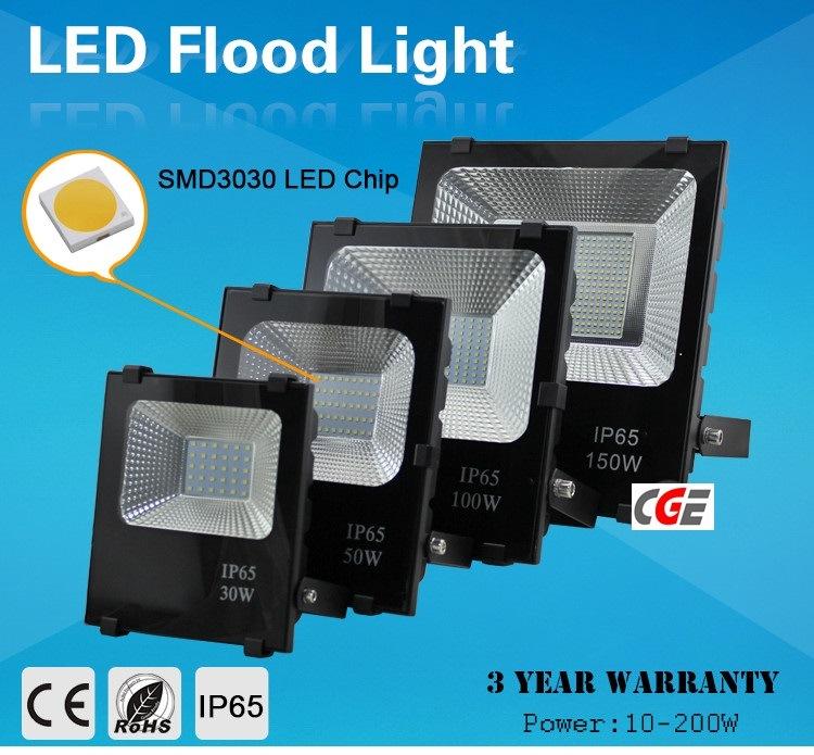 Epistar Chip 30W 50W 70W 100W 150W SMD LED Floodlight