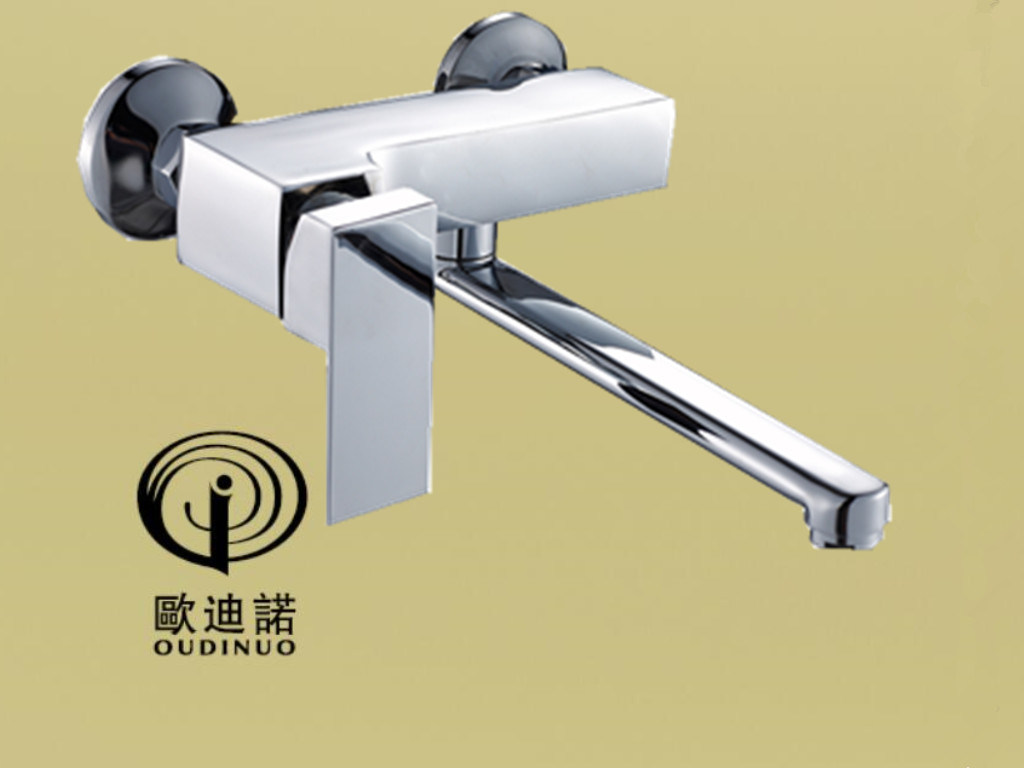 New Style Brass Single Handle Wall-Mounted Kitchen Faucet & Mixer Odn- 61518-1