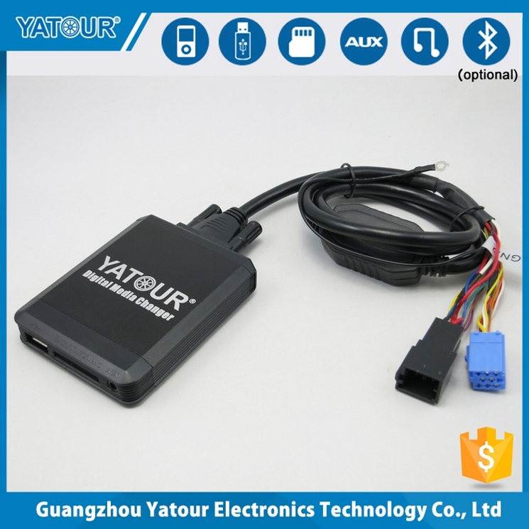 Yatour Digital Media Changer (USB/SD card/aux in/iPod/iPhone) for VW/Toyota/Honda/Mazda...etc